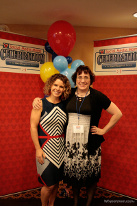 "Tonia & Mindee Doney of ""Juice Box Consulting"" (creator of Boogie Wipes) at Disney on the road Seattle! #DisneySMMoms"