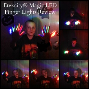 Etekcity LED Finger Lights Review Available on Amazon, Perfect for Halloween!