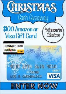 $100 Christmas Cash Giveaway! http://Whynotmom.com