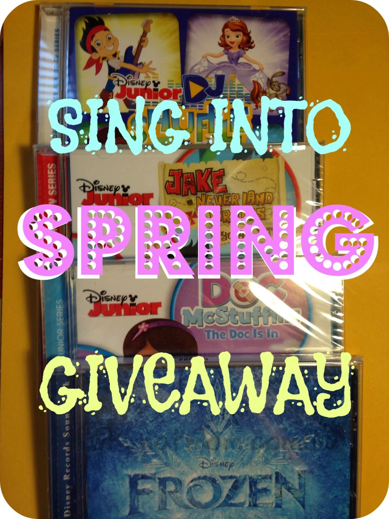 Tame Your Toddlers & Tweens with these Disney® Soundtracks! #SingIntoSpring #Giveaway