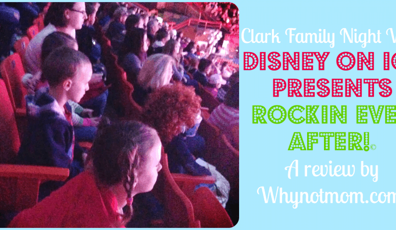 Disney on Ice presents Rockin' Ever After|Review and a Discount!