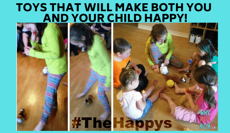 children playing with remote control furry pets called happys by cepia llc
