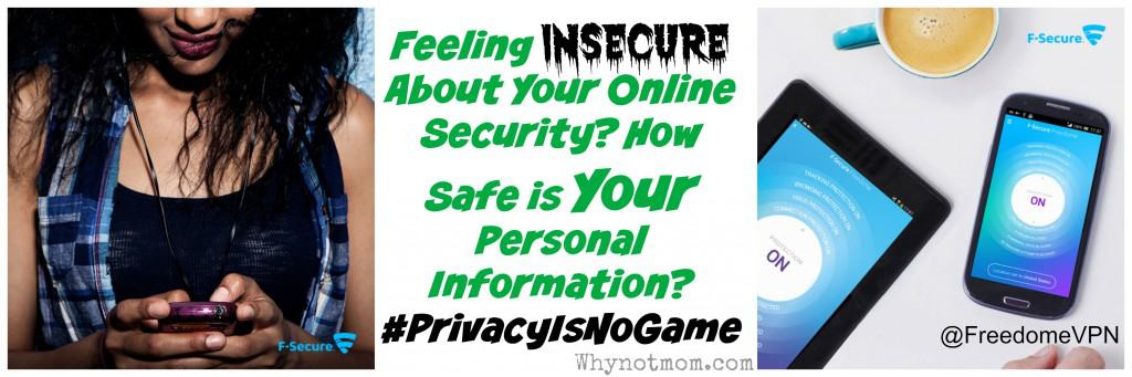 Do you feel unsure of your online security? Read this! #PrivacyIsNoGame http://bit.ly/1DUyeXZ via @whynotmomdotcom