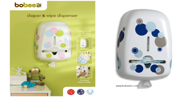 Check out Whynotmom.com & see innovative baby products like this Bobee diaper & wipe dispenser for your nursery! Clever and handy! #baby|#wahm|#nursery|diapers|babies|children|kids|mom|mother http://amzn.to/1JCPGID