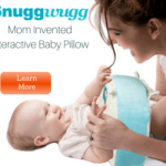 SnuggWugg interactive baby pillow for diaper changing and so much more! #baby #nursery #pottytraining https://whynotmom.com/shop/baby-kids/for-the-nursery/
