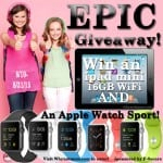 A Giveaway of EPIC Proportions! Win an Apple® Watch Sport AND an iPad Mini! #PrivacyIsNoGame #ad #sweeps