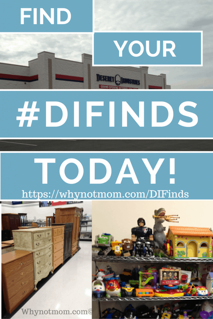 How one thrift store made a HUGE impact on my family and others. #DIFinds #ad #thrifty #frugal #employment #career #family #wahm #workfromhome #diy #upcycle