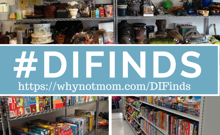 How one thrift store made a HUGE impact on my family and others. #DIFinds #ad
