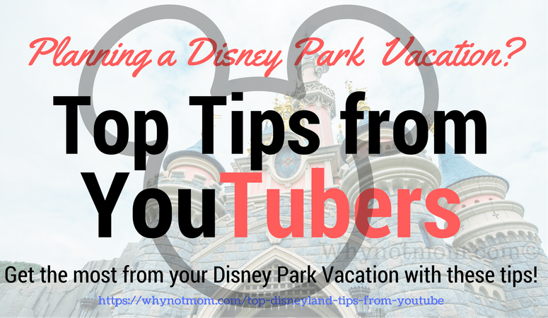 Top tips for visiting Disneyland or Disneyworld park #vacation #resort