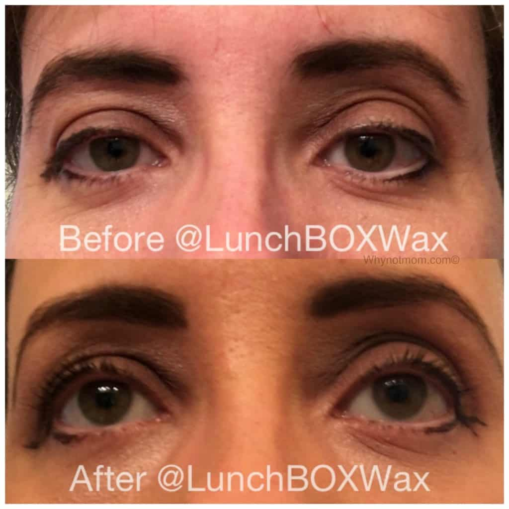 My freshly waxed and groomed eyebrows at LunchBOX A WAXING Salon #beauty #Fashion #waxing #brazilian #eyebrowmakeover #Makeup
