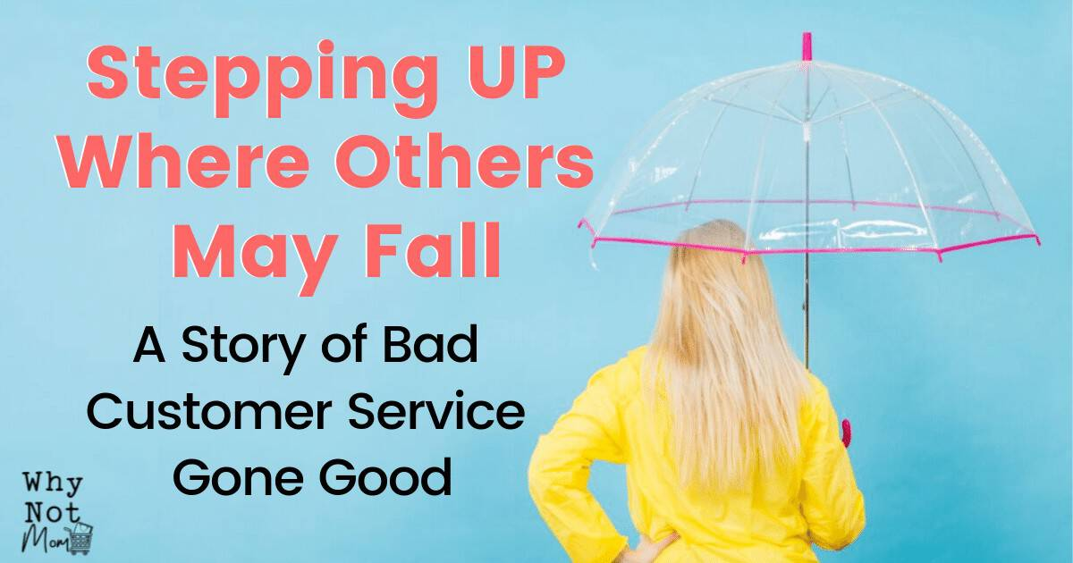 Stepping Up Where Others May Fall A Story Of Bad Customer