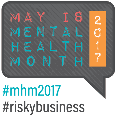 May is Mental Health Month 2017 http://www.mentalhealthamerica.net/ #mentalhealthmonth #mentalhealthweek
