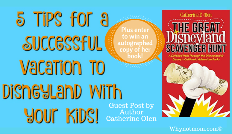 5 Tips for a Successful Disneyland Family Vacation! #giveaway #sweeps #disneypark #disney