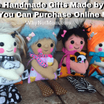 Unique Handmade Gifts Made by Moms That You Can Purchase Online Now! #HolidayGiftGuide