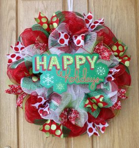 Wreaths for every occasion! #wreaths #holidays #holidaydecor #homedecor #christmas #valentines #halloween #summer #4thofjuly