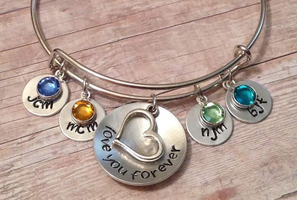 charm bracelet #jewelry #etsy #handmade #handmadejewelry