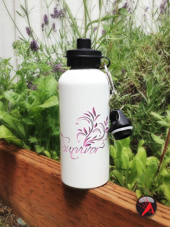 Sublimated ceramic mugs and aluminum water bottles featuring hand-drawn and digital illustrations. #etsy #handmade #decor christmas #holiday #waterbottles #custommade #personalizedgifts #mugs
