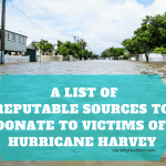 REPUTABLE Sources to donate to help Hurricane Harvey Victims