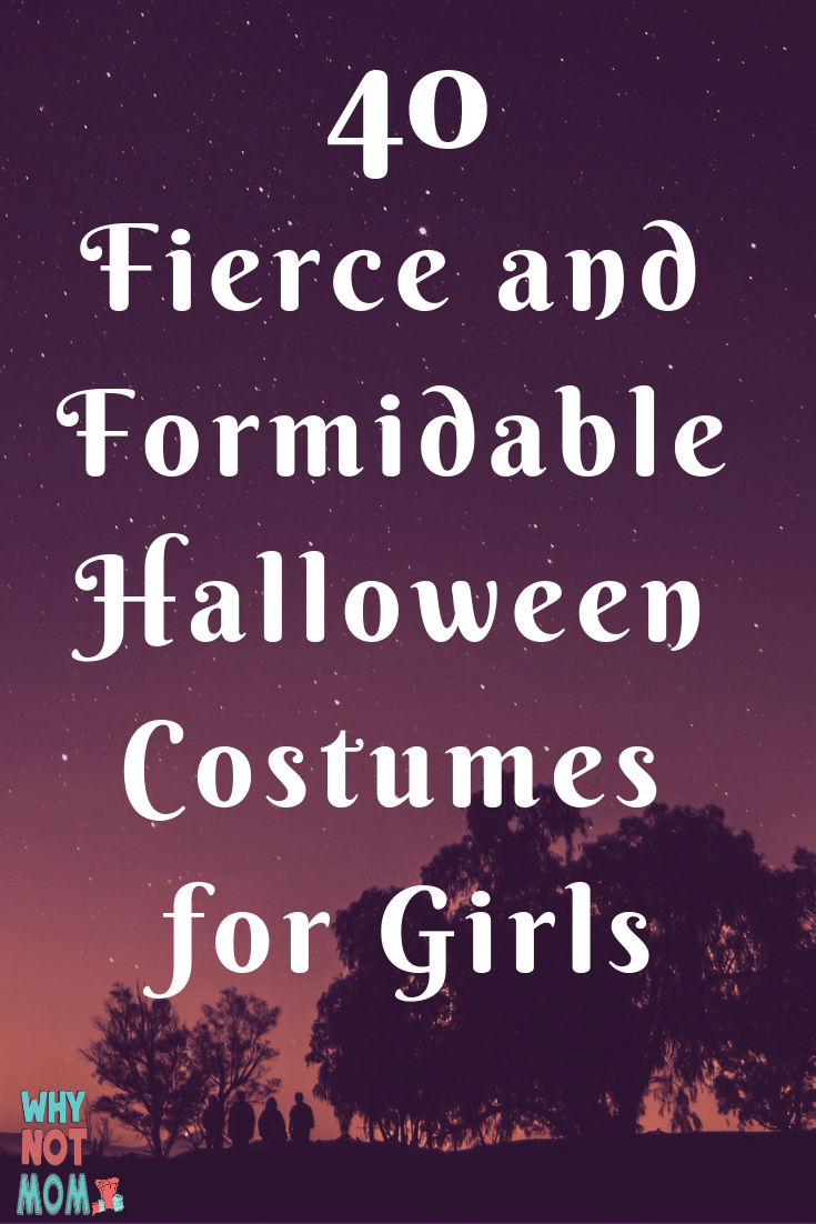 40 Fierce and Formidable Halloween Costumes for Girls. Period costumes perfect for 'dress as your favorite author or character' school events as well as Halloween and trunk-or-treat events. Modest costumes for girls too!