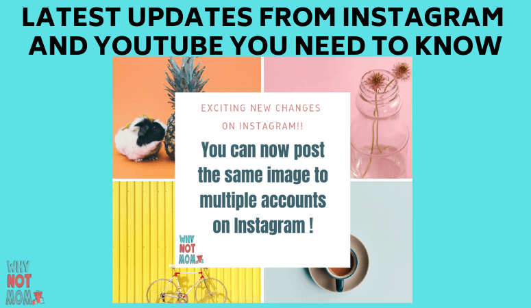 Instagram Updates and YouTube changes you need to know for 2019