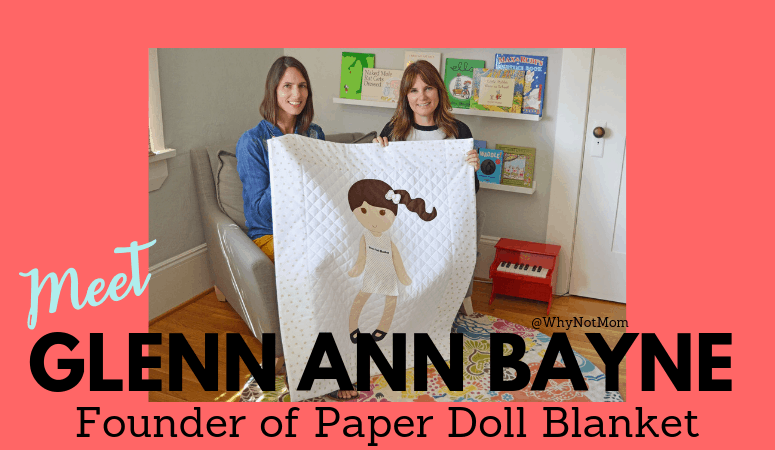 Meet Glenn Ann Bayne of Paper Doll Blanket; Featured on Chrissy Teigan's IG Stories