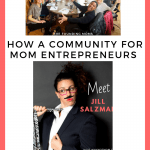 group photo of Chicago Founding Moms group and Jill Salzman| How a community for mom entrepreneurs launched a successful startup